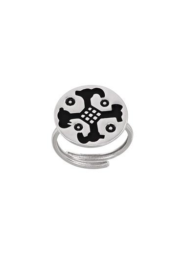 AC Mühür Koleksiyonu: Hitit Kartal Kafası Betimli Gümüş Yüzük Argentum Concept